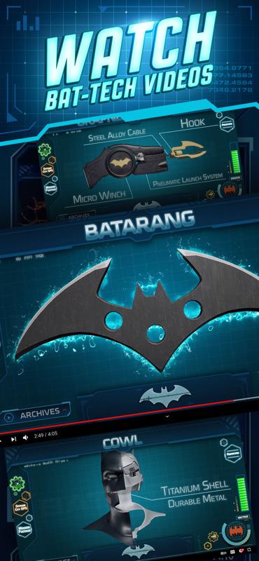 DC:BatmanBat-Tech, la primera aplicación de Realidad Aumentada de Batman - app-dc-batman-tech