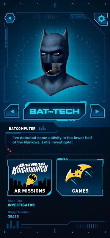 DC:BatmanBat-Tech, la primera aplicación de Realidad Aumentada de Batman - app-dc-batman