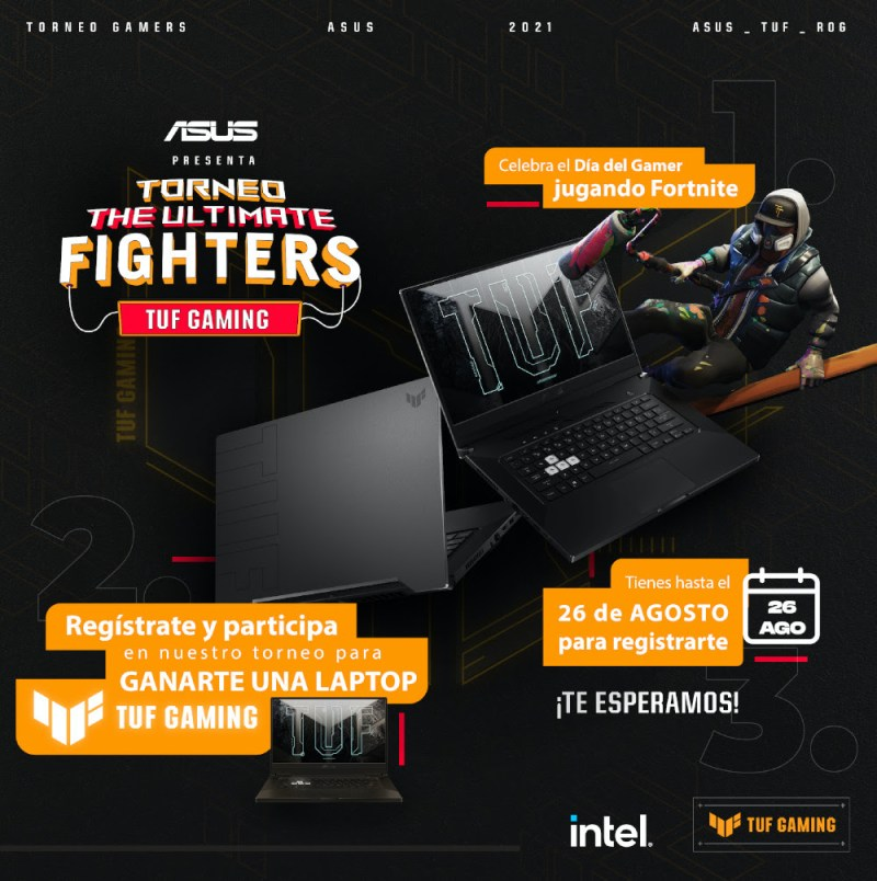 Asus e Intel abren convocatoria para  torneo de Fortnite: The Ultimate Fighter - asus-the-ultimate-fighter