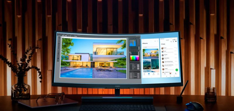 Monitores MateView y MateView GT de Huawei: Precios de preventa - huawei-mate-view-gt-pantalla