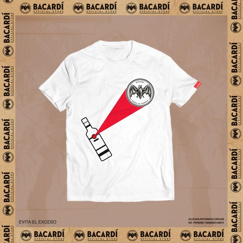 Bacardí lanza tienda oficial en línea - playera-bacardi-store