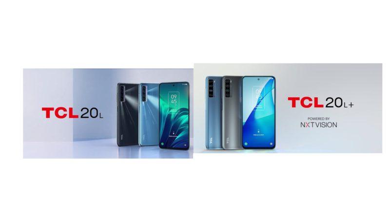 TCL 20L y TCL 20L+ ¡características y precio oficial en México!