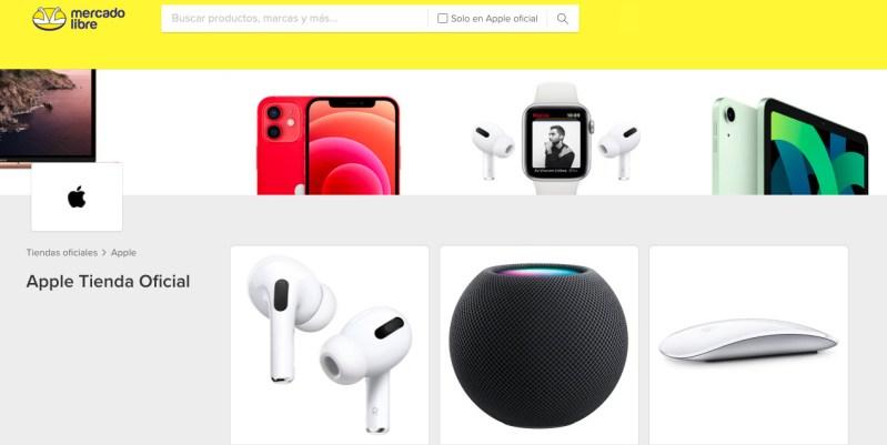 Tienda Oficial de Apple en Mercado Libre