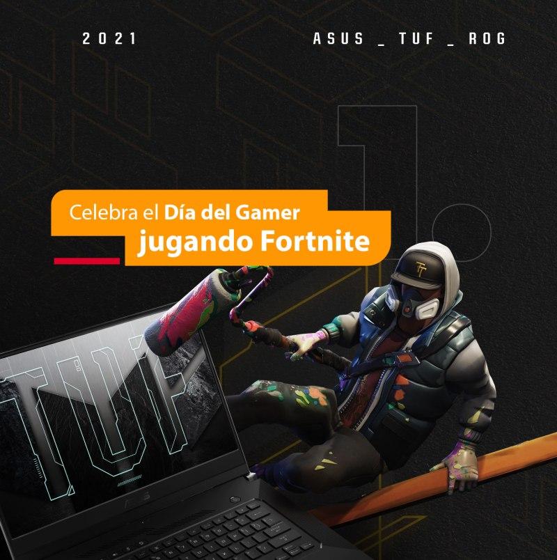 Asus e Intel abren convocatoria para  torneo de Fortnite: The Ultimate Fighter - torneo-the-ultimate-fighters-dia-del-gamer-1-1274x1280