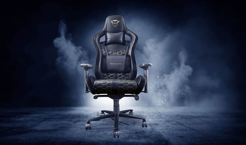 Nuevas Sillas para Gaming de Trust: GTX 716 Rizza, GXT 712 Resto Pro, y GTX 708 Resto - trust-sillas-para-gaming-1