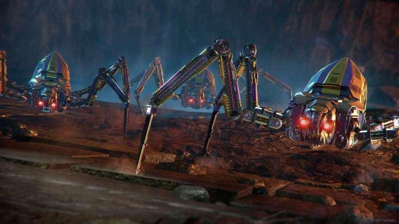 La expansión gratuita War for Wakanda ya está disponible en Marvel's Avengers - war-for-wakanda-crawlers-1280x720