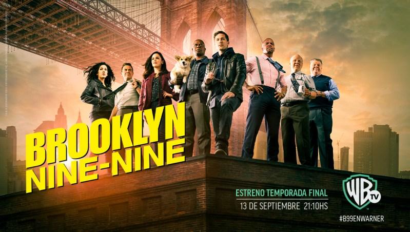 """Warner Channel estrena la octava temporada de """"Brooklyn Nine Nine"""""""
