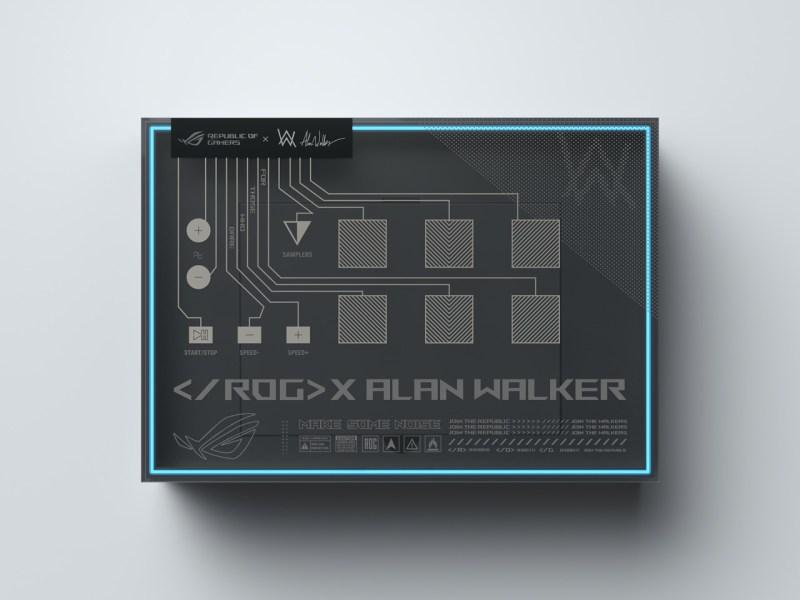ROG Zephyrus G14 Alan Walker Special Edition, la tecnología se une a la musicalidad - zephyrus-g14-aw-se-package-rog-remix