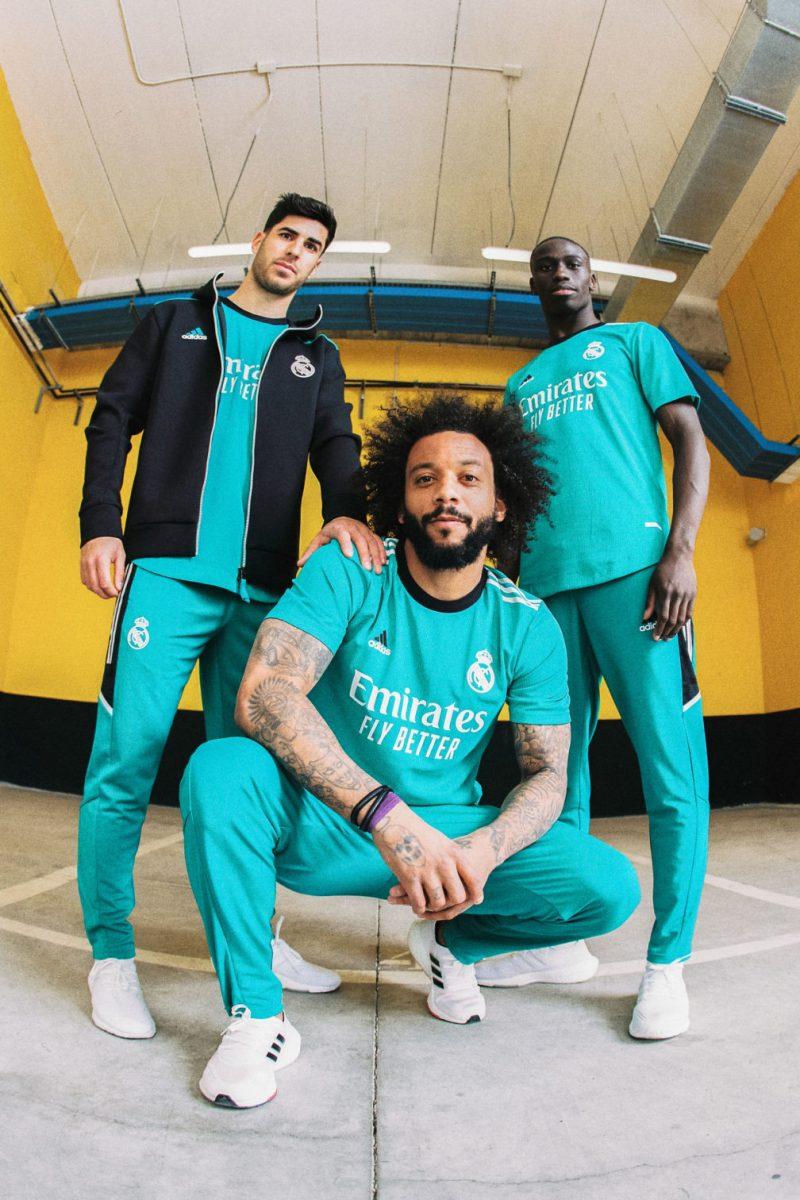adidas y Real Madrid presenta el tercer uniforme para la temporada 2021/22