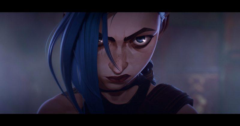 Riot Games y Netflix revelan el primer tráiler de la serie animada Arcane - arcane-jinx-1280x675