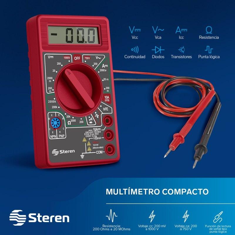 Productos básicos que todo futuro ingeniero debe tener en su mochila - mochila-ingeniero-multimetro-compacto