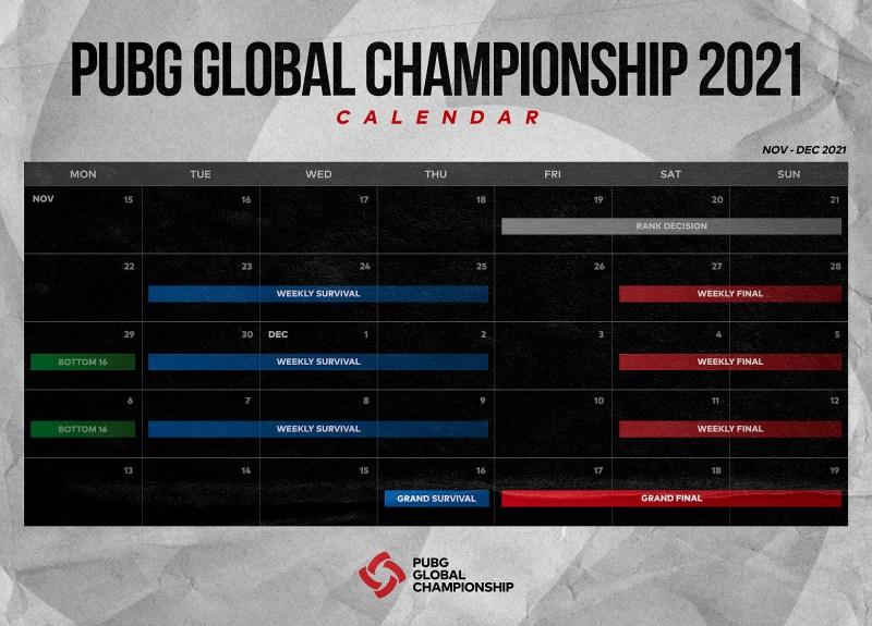 El PUBG Global Championship (PGC) 2021 contará con seis equipos de América - pubg-global-championship-2021-1280x920