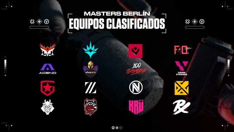 Calendario de enfrentamientos de VALORANT Masters de Berlín - valorant-masters-de-berlin-masters-primer-latam-qualified-teams-1280x720