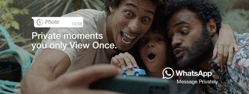 WhatsApp lanza «Momentos privados que sólo puedes ver una vez»