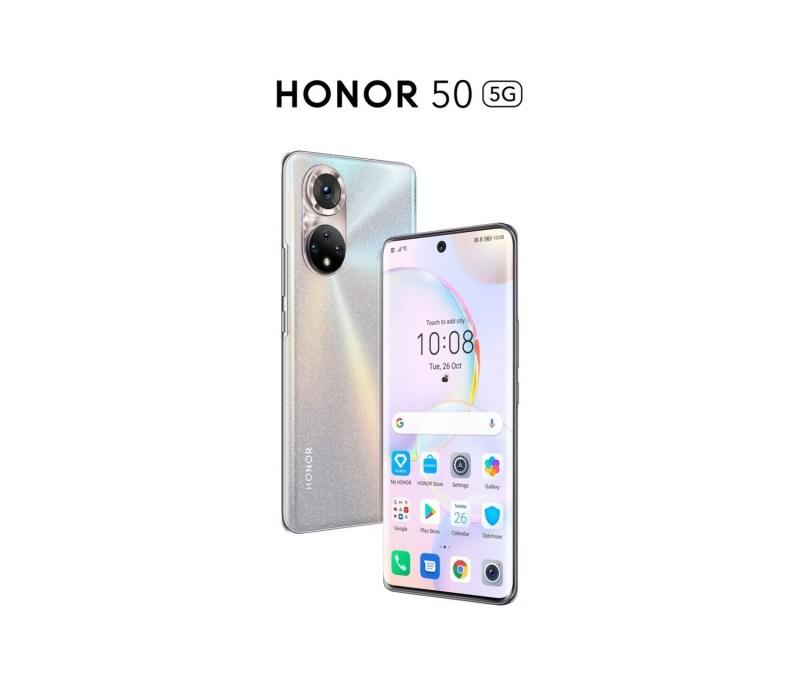 La serie HONOR 50 estará equipada con los servicios móviles de Google - honor-50-5g-mexico-1280x1109