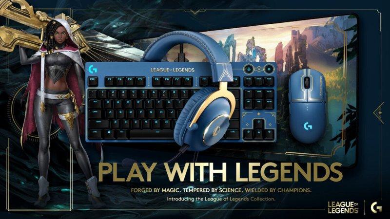 Logitech G presenta los periféricos gamer oficiales de League of Legends - perifericos-gamer-league-of-legends-2021