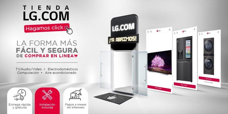 Nueva tienda en línea de LG México con beneficios exclusivos