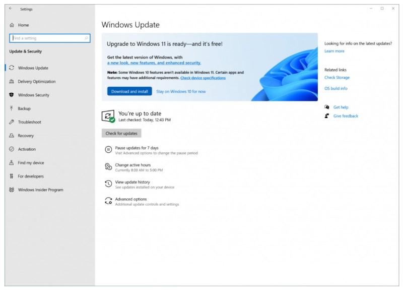 Windows 11 inicia su actualización ¡conoce algunas de sus características! - windows-update