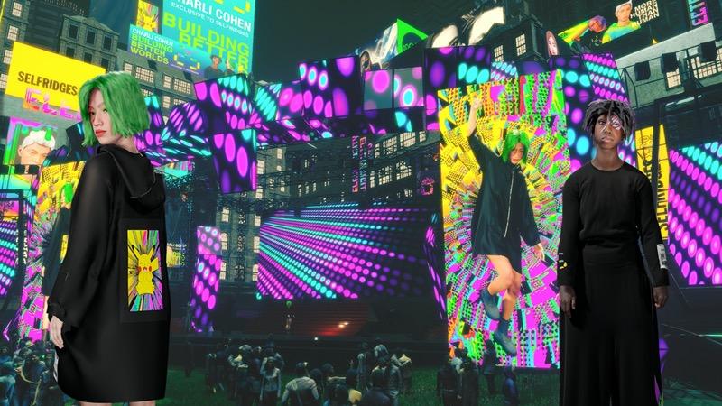 """Electric/City, entorno digital """"ciberpunk"""" creado por Yahoo e inspirado en el 25º aniversario de Pokémon - yahoo-pokemon"""