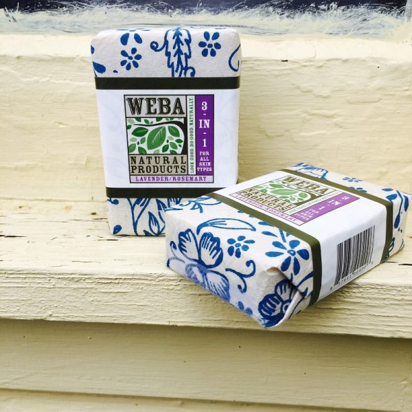 Lavender Bar Soaps 3 in 1 cruelty free