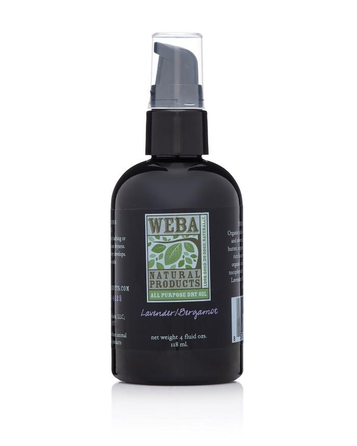 WEBA Natural Products Dry Oil Lavender Bergamot