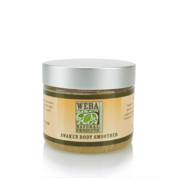 WEBA Natural Products Body Smoother Sugar Scrub Citrus Oils All Natural