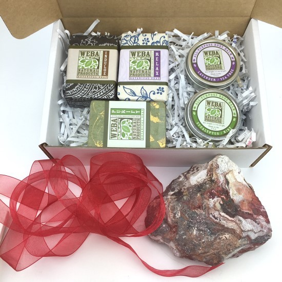 All-occasion gift box by WEBA Natural Products