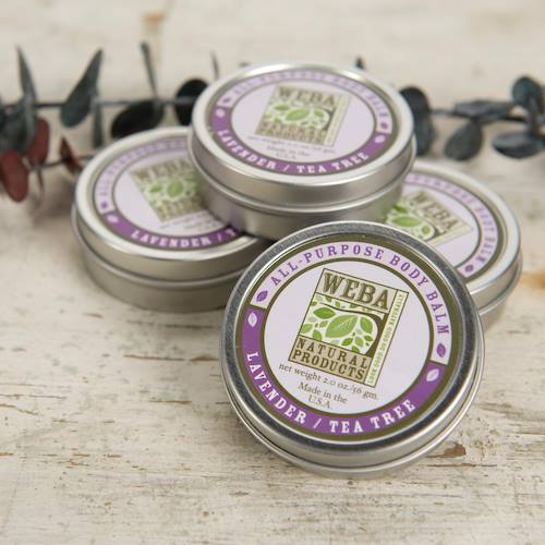 WEBA Natural Products Lavender Tea Tree Balm group