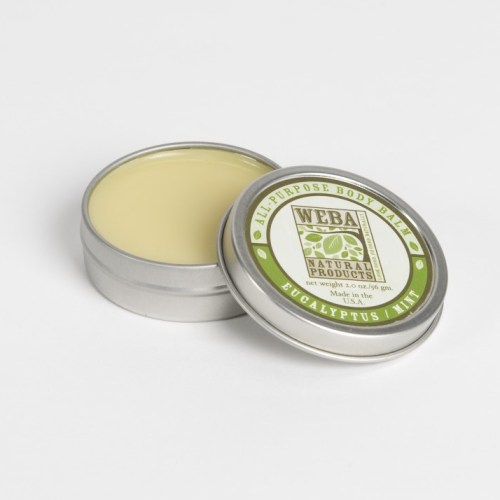 WEBA Natural Products All Purpose Body Balm with Eucalyptus and Peppermint oils