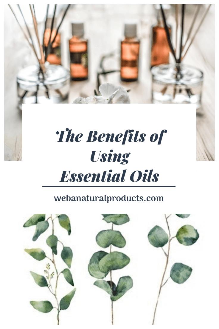 Benefits of using essential oils