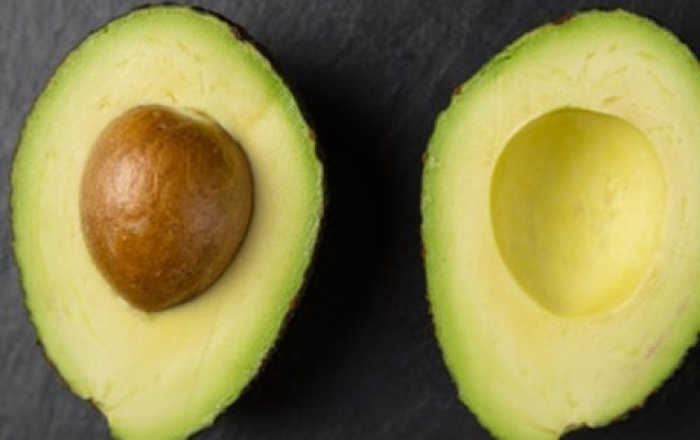 Avocado is a delicious source of Vitamins A & E.