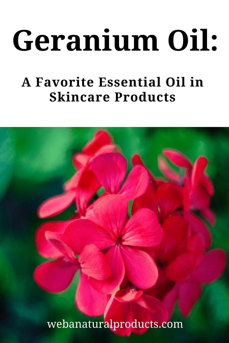 Geranium Oil A Skincare Favorite Blog Post
