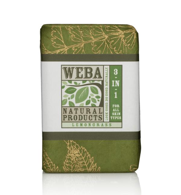 Purify botanical bar soap with lemongrass oil and botanicals