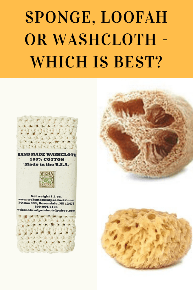 Sponge, Loofah or Washcloth - Which is Best?
