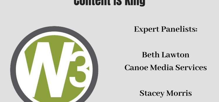 003 How to Build a Website, Part 3 – Website Content Is King