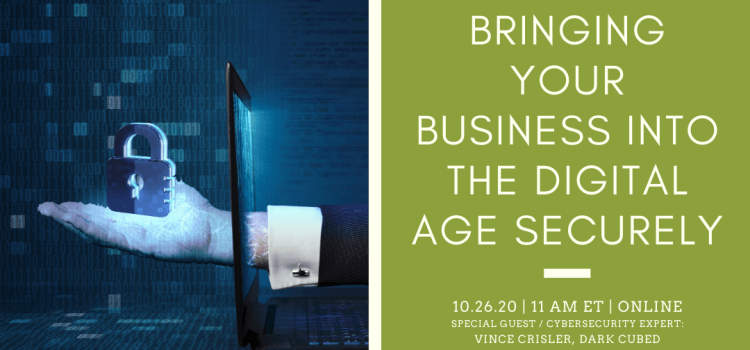 Bringing Your Business Into the Digital Age Securely with Vince Crisler, CEO of Dark Cubed
