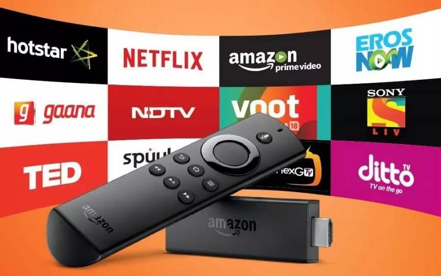 come collegare lo smartphone alla TV con amazon fire stick
