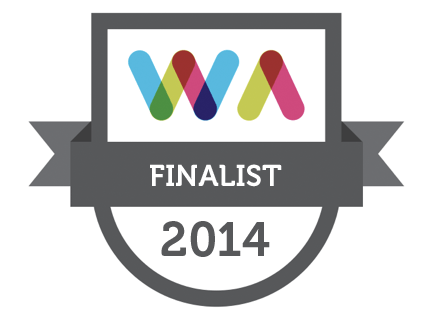 Irish Web Awards 2014 Semi Finalist