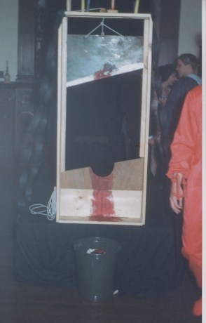 guillotine for Halloween