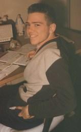 Joe at his desk