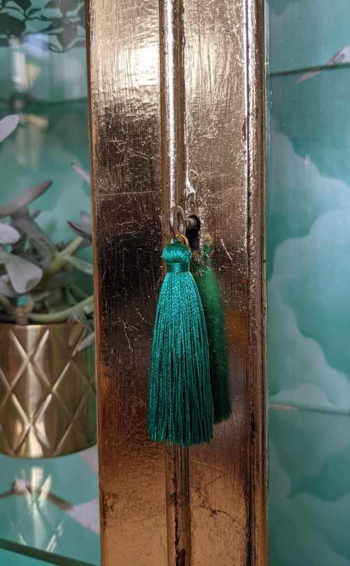 Florence, door with tassel on key