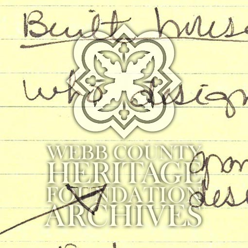 Scan of notes from Bertani Andres' File
