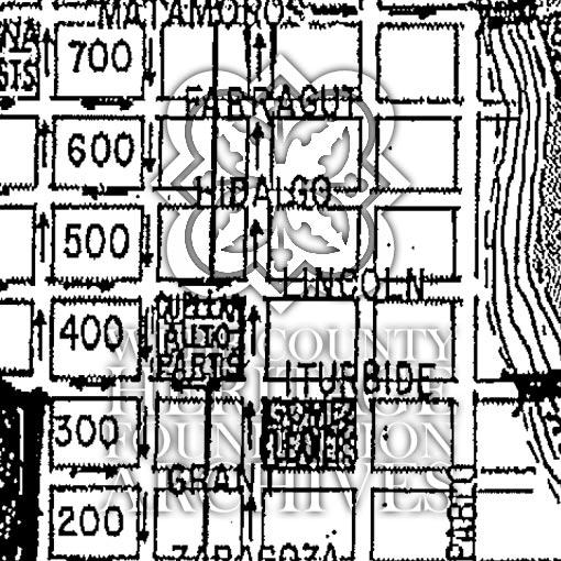 Azteca Neighborhood Map