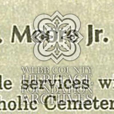 Obituary of Moore, Philip N. Jr.