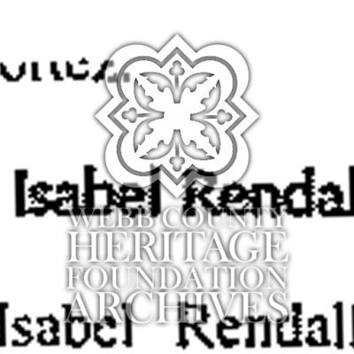 Obituary of Rendall, Isabel