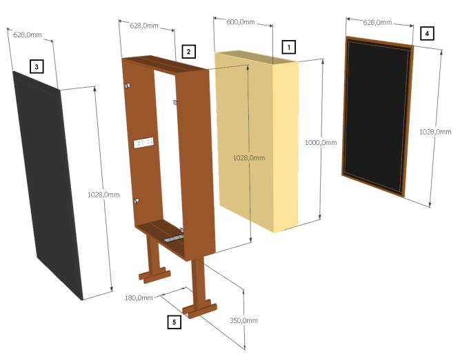 Stand Alone Acoustic Panels Bass Traps