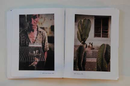 Alex Webb, Rebecca Norris Webb photos, book dummy