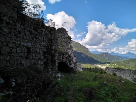 Blick über die Portaclaudia