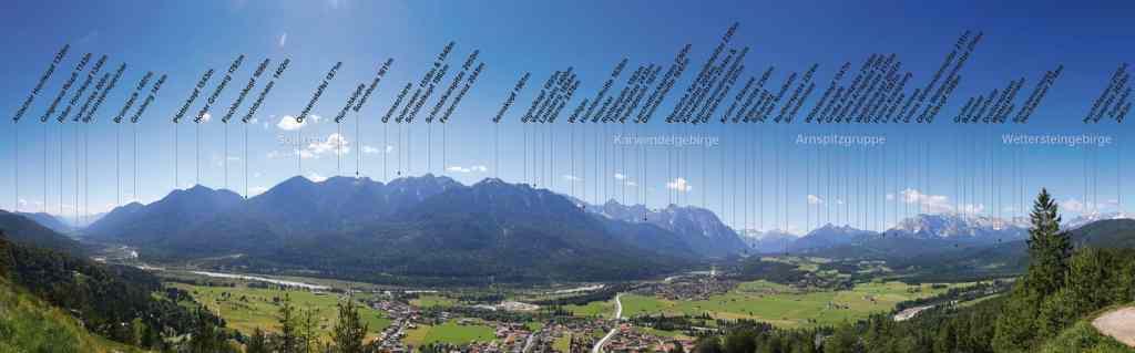Panorama Plan Karwendel Wetterstein © Fabian Roessler