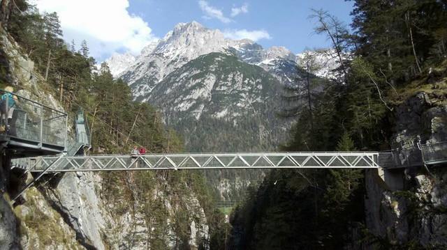 Große Brücke in der Geisterklamm